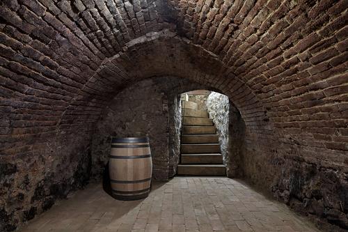 Vinný sklep.