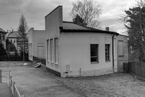 Původní podoba pavilonu z doby před rekonstrukcí.