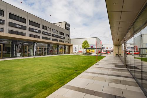 Designcentrum Kaštanová v Brně; zdroj: Ruukki.