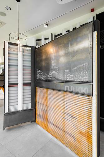 Centrum Kaštanová jsme nejenom pomáhali tvořit, ale nachází se v něm i náš showroom; zdroj: Ruukki.
