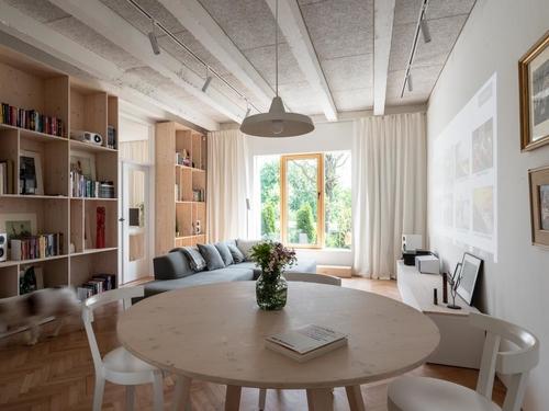 what architects: přízemní byt vBratislavě, 2017–2018; foto:Tomáš Krištek.