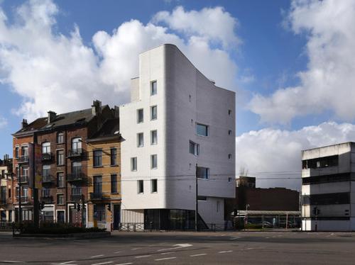 Social Housing in Schaerbeek (BE), MSA, V+; photo: KRUH.