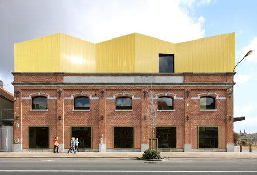 Museum Texture v Kortrijku, NoAarchitecten; foto: Serge Brison.