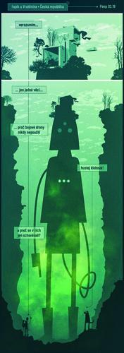 comics by Josef Cevora / Mixage