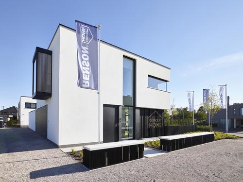 Renson Concept Home: testovací a školicí centrum produktů Renson v belgickém Waregemu.
