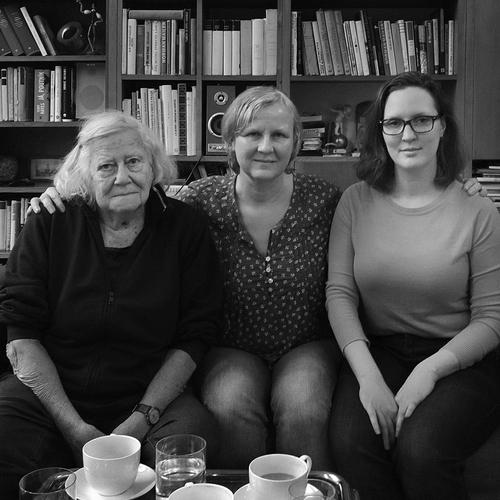 Alena Šrámková, Magdalena Hlaváčková a Magdalena Hlaváčková ml.; foto: Zuzana Morávková.