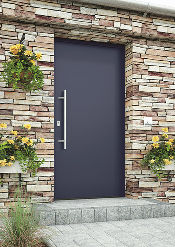 Hliníkové vchodové dveře AKTIV 77 EXCELLENT; zdroj: LOMAX.
