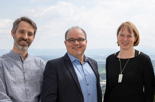 Adam Cifra, Erik Štefanovič, Sabrina Schubert.