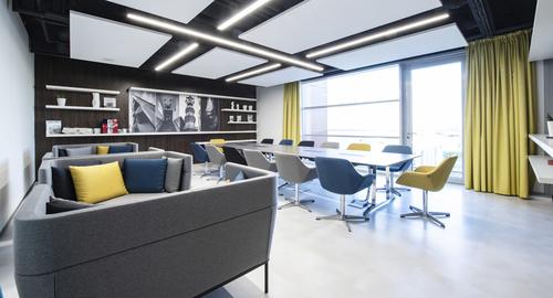 Cubex nabízí 8 sálů a salonků s kapacitou pro 20 i 1 000 osob.