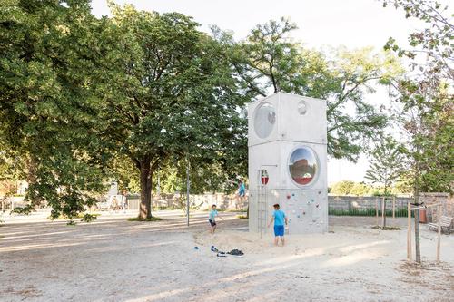 Nový park, Leopoldov; foto: Ján Kekeli.