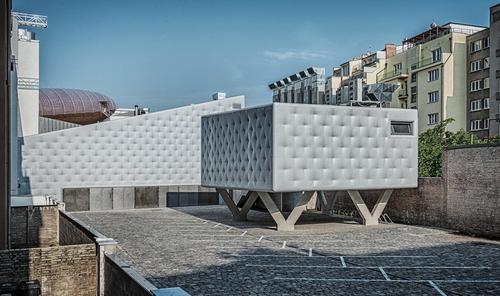 Petr Hájek ARCHITEKTI: Centrum současného umění DOX+; foto: Benedikt Markel.