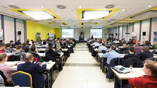 Seminář Beton University v Praze; foto: Ondřej Hromádko.