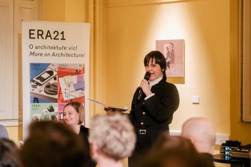 Diskusi zahájila moderátorka Karolína Vránková; foto: Marieta Malíková.