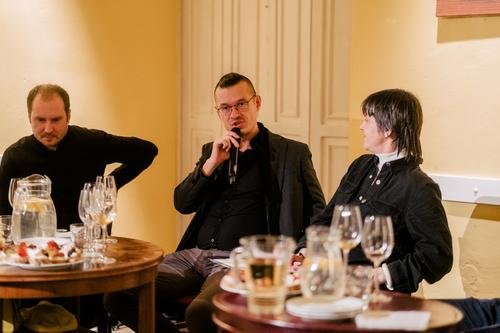 Filip Landa, Osamu Okamura a Karolína Vránková; foto: Marieta Malíková.