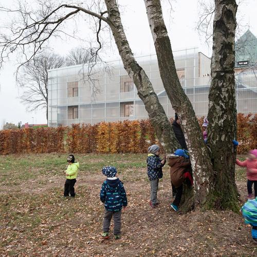 PETR STOLÍN ARCHITEKT: Mateřská škola Nová Ruda ve Vratislavicích nad Nisou, vítěz ČCA 2020; foto: Alexandra Timpau.