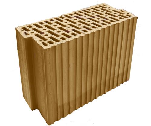 Nosný cihelný blok HELUZ AKU Z 17,5 broušená.