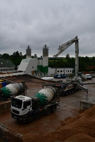 Otevření nové betonárny v Hlinsku