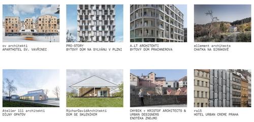 Nominované stavby ČCA 2020
