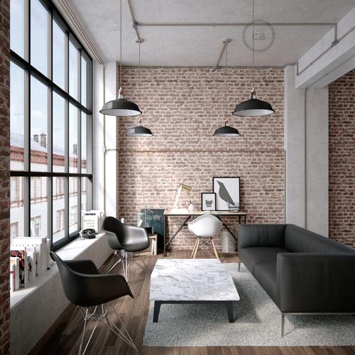 Creative-Tube lze výborně využít pro rekonstrukce vindustriálním stylu.