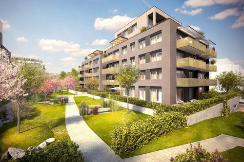 Rezidenční projekt Ecocity Malešice III v Praze od developera JRD.