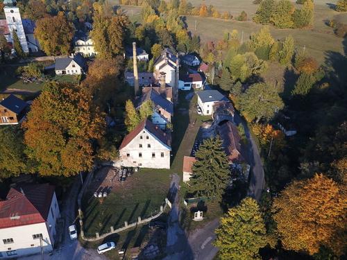 Současný stav pivovaru Rudník; zdroj: Josef Smutný.