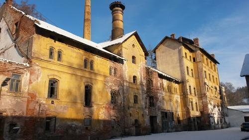 Současný stav pivovaru Rudník; foto: Josef Smutný.