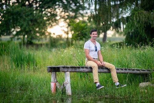 Arborista a ornitolog Lubor Křížek; foto: Vojta Herout.