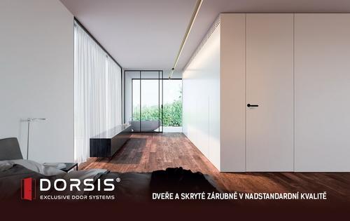 Dorsis - dveře a skryté zárubně v nadstandardní kvalitě.