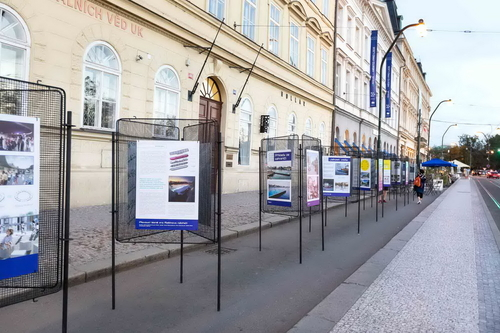 Foto z výstavy; zdroj: Praha – město pro lidi.