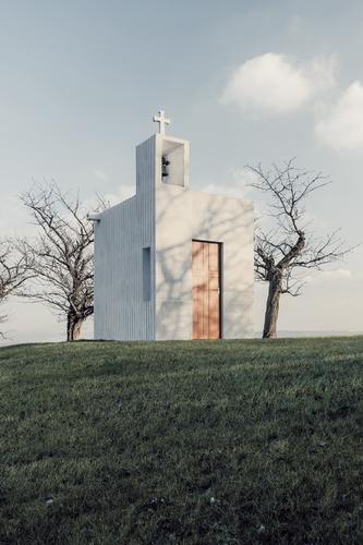 Petr Pelčák: kaple sv. Vendelína vOseku nad Bečvou, 2017; foto: Matěj Chabera.