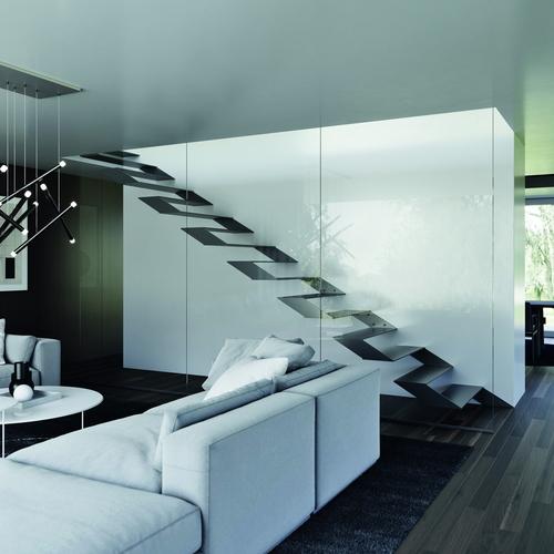 Třmenové schodiště JAP ULTRA; zdroj: JAP FUTURE.