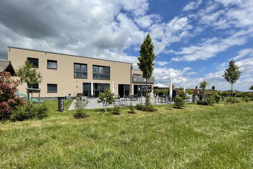 Vinotéka vinařství Hirt-Gebhardt v Eltville am Rhein před realizací projektů R+T; foto: Landesmesse Stuttgart GmbH.