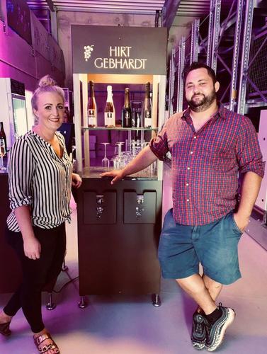 Majitelé vinařství Claire a Christian Gebhardtovi; foto: Weingut Hirt-Gebhardt.